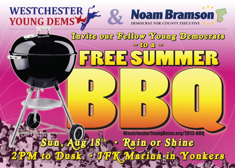 WYD BBQ invite