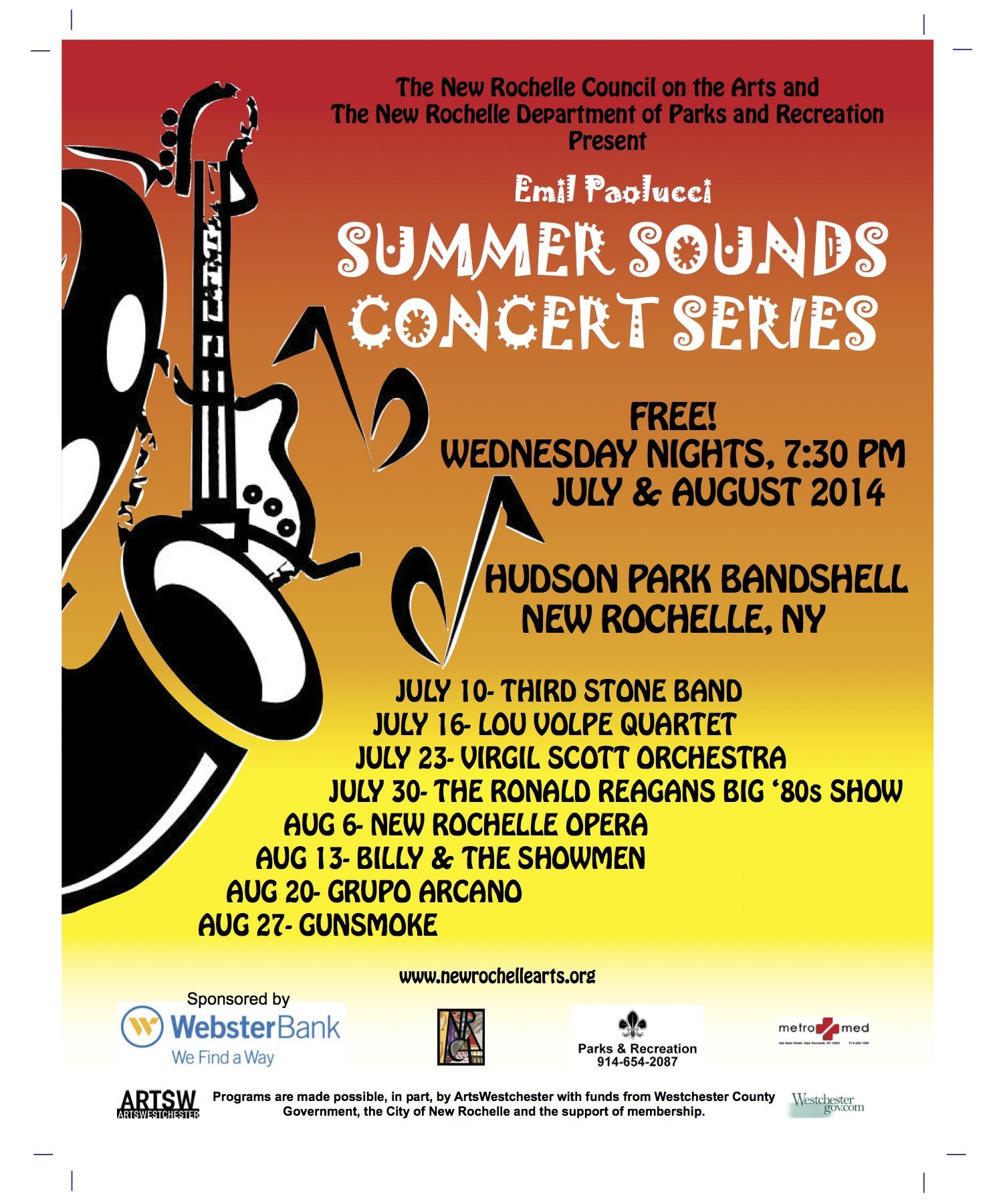 Summer Concerts (Plus a Food Truck) in New Rochelle - Mayor Noam Bramson