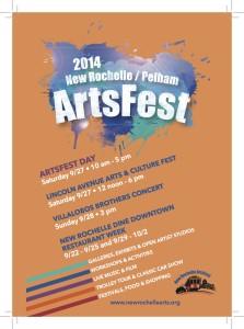 Arts Fest 2014 Cover
