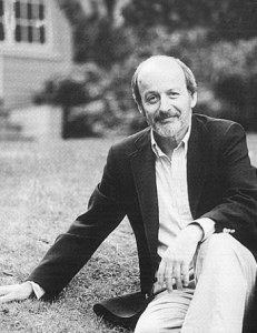 Ed Doctorow by his house on Broadview.