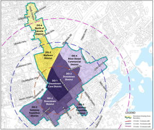 Proposed Downtown Overlay Zone Boundaries