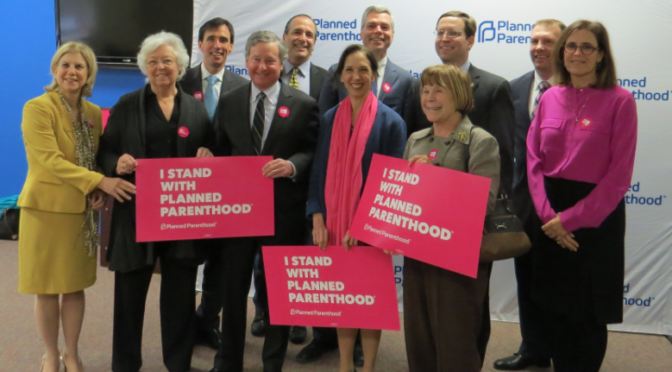 Proud to Support Planned Parenthood