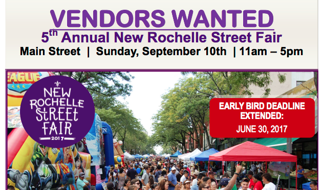 Attention Street Fair Vendors