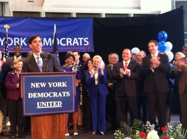 Noam was endorsed by Gov. Cuomo