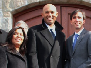 Clara Rivera, Mariano Rivera, and Noam