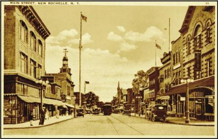 Main Street used to be two-way.