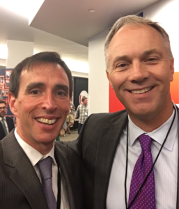 Mayor Noam Bramson of New Rochelle and Mayor Jon Mitchell of New Bedford.
